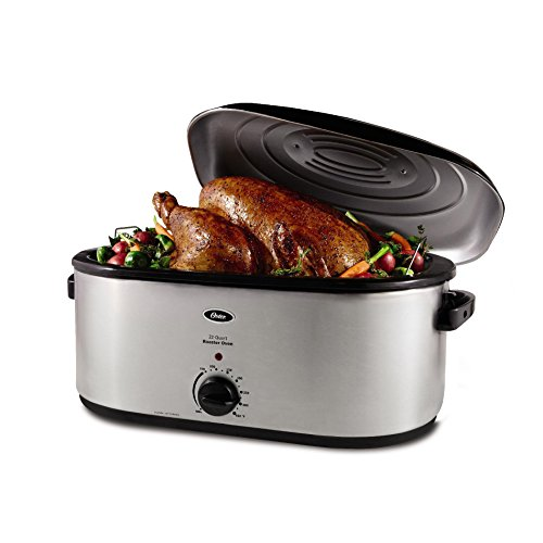 Oster CKSTR23 22 qt. Stainless Steel Roaster Oven by Oster