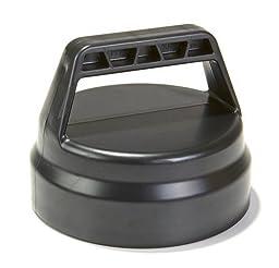 POULTRY CAP 4 W/HANDLE BLACK PPF3 5 7) PPF308 1/CS MILLER by Miller