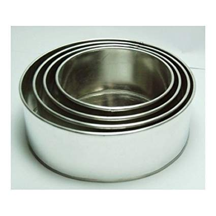 wilton round cake pan set - 6