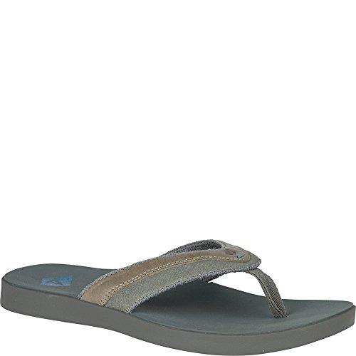 Sperry Top-sider Menns Wahoo Flat Sandal Grå