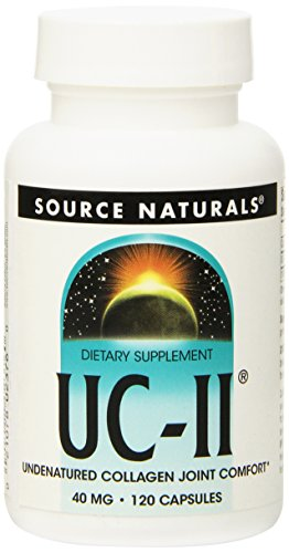 Source Naturals UC-II, Undenatured Collagen Joint Comfort, 120 Capsules