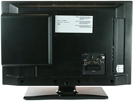 Telefunken l24h274/24 V DVD LED TV de 24 pulgadas 61 cm Widescreen Pantalla, TV con DVB-S/S2, DVB-T2, DVB-C, DVD, USB, clase de eficiencia energética A +, 12 V/24 V/230 V, para LWK