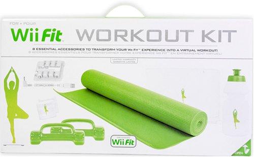 Wii Fit Workout Kit (Wii) [Importación inglesa]: Amazon.es ...