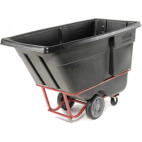 Rubbermaid 1316 Heavy Duty 1 Cu. Yd. Tilt Truck, 72-1/4