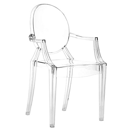 Cheap Zuo Anime Dining Chairs (Set of 4), Transparent