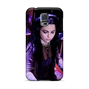 Protective Hard Cell-phone Cases For Samsung Galaxy S5 With Unique Design Nice Evanescence Band Pattern JohnPrimeauMaurice