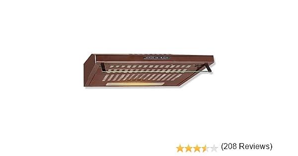 Bomann - Campana extractora du 622, color marrón: Amazon.es: Grandes electrodomésticos
