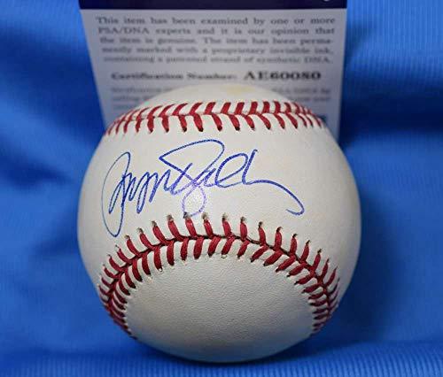 (RYNE SANDBERG PSA DNA Cubs Autograph National League ONL Baseball Hand Signed )