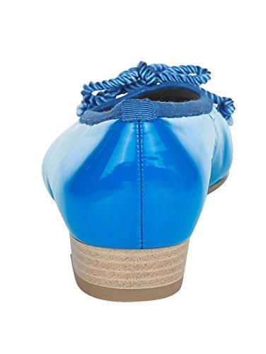 Jenny Ballerina mit Stoßdämpfender Luftpolsterlaufsohle Royalblau