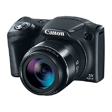 Canon PowerShot SX420 Digital Camera w/42x Optical Zoom Wi-Fi & NFC Enabled (Black)
