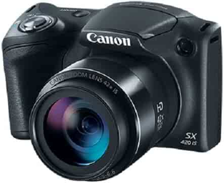 Canon PowerShot SX420 Digital Camera w/ 42x Optical Zoom - Wi-Fi & NFC Enabled (Black)