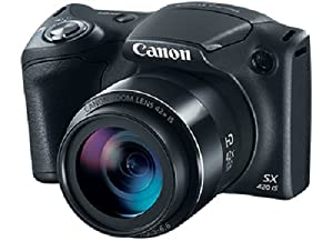 Canon PowerShot SX420 Digital Camera w/42x Optical Zoom - Wi-Fi & NFC Enabled (Black)