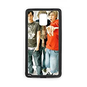 Samsung Galaxy Note 4 Cell Phone Case Covers Black Busted MUS9190090