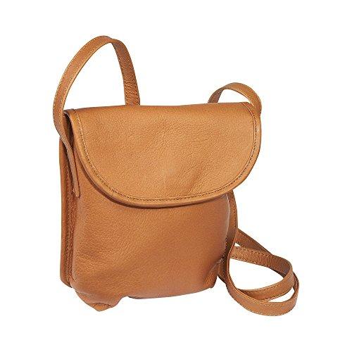 ledonne-unisex-adult-leather-magnetic-flap-mini-handbag-tan-small