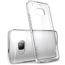 HTC One M9 Case, [Scratch Resistant] i-Blason **Clear** [Halo Series] HTC One Hima M9 Hybrid Bumper Case Cover (Clear (Anti Scratch))