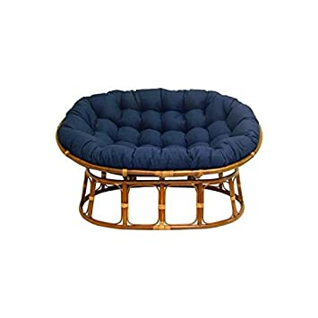 Amazoncom Double Papasan Chair with Fabric Cushion Kitchen Dining