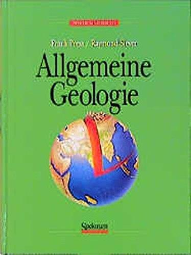 Allgemeine Geologie. Eine Einführung
