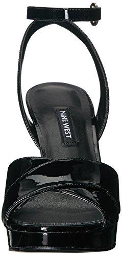 Sandalo Black Tacco Quisha Sintetico Nove Delle Donne 001 Ovest nxwYqXgU0O