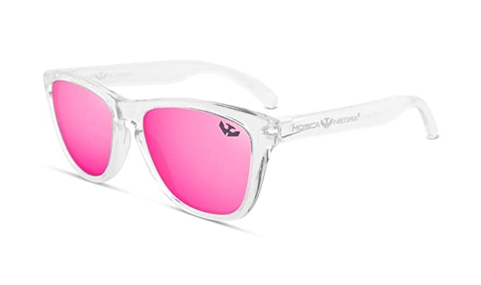 Gafas de sol MOSCA NEGRA ® modelo ALPHA TRANSPARENT Pink ...