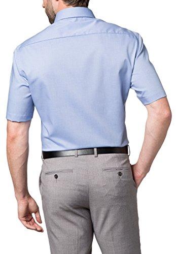 ETERNA Kurzarm Hemd MODERN FIT strukturiert Bügelfrei