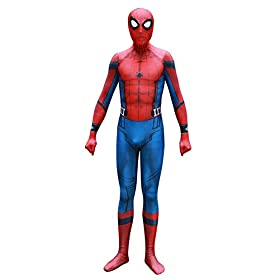 - 41kpnV8PAZL - Pizone Unisex Lycra Unitard Zentai Halloween Costumes Bodysuit Adult/Kids
