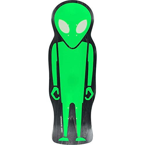 - Alien Workshop Soldier Die Cut Skateboard Deck - 9.67x30.37 Deck - Assembled AS Complete Skateboard