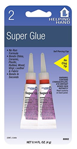 Helping Hand 80002 .07 Oz Super Glue 2 Count