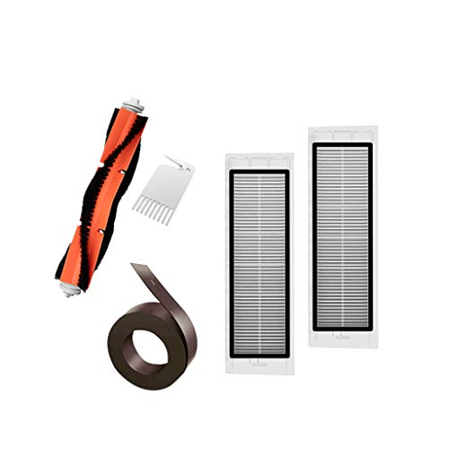 Sweeping Robot Accessories,IHGTZS Summer Independence Day Labor Day Complete Accessories Filter Virtual Magnetic Stripe Roller Brush for Xiaomi 1S&RoboRock T65 -