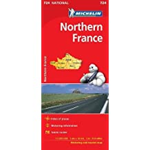 Northern France Map 724 2018