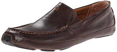 OluKai Akepa Moc Shoe - Men's Chocolate/Chocolate 8