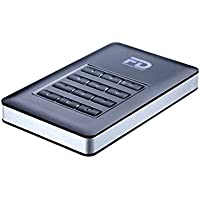 Fantom Drives DSH2000 DataShield 2TB AES Hardware Encrypted Portable USB 3 External Hard Drive