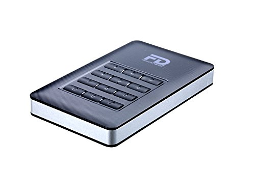 Fantom Drives DSH2000 DataShield 2TB AES Hardware Encrypted Portable USB 3 External Hard Drive by Fantom Drives