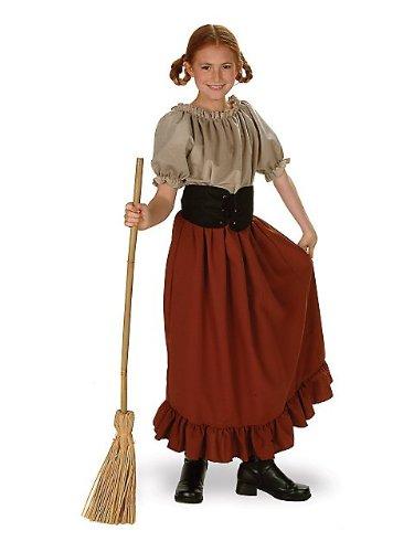RG Costumes Renaissance Peasant Girl Child Costume-