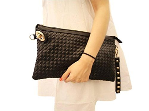 Quilted Envelope Clutch - 3