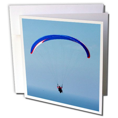 Price comparison product image 3dRose Danita Delimont - Adventure Sport - California, San Diego. Hang glider flying - 12 Greeting Cards with envelopes (gc_229915_2)