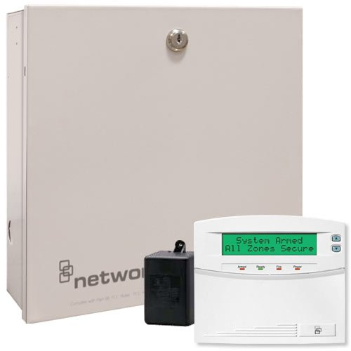 Interlogix NetworX NX-8 Security System Kit with NX-148E Keypad