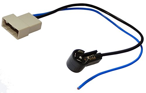 Aerzetix: ISO Car Radio Antenna Cable Connector, Special Adapter:
