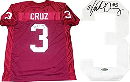 5f3fb6477 Image Unavailable. Image not available for. Color: Victor Cruz Autographed  Jersey ...