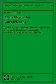Book Perspektiven des Naturschutzes