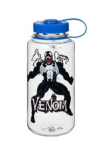 Nalgene Tritan Wide Mouth BPA-Free Water Bottle, 32 Oz, Veno