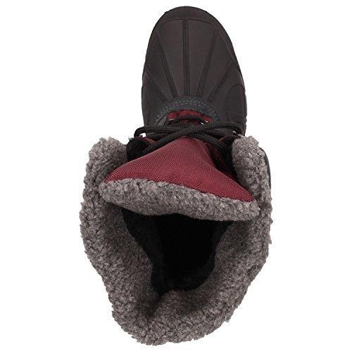 Archi Susi Stivali Invernali Donne Stivali Da Neve Racchette Da Neve Stivali Invernali Fodera In Caldo Rosso Impermeabile Impermeabile