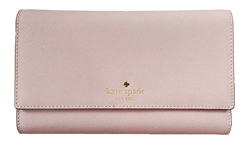 Kate Spade New York Mikas Pond Phoenix Trifold Leather Wallet (Plum Dawn) by Kate Spade New York