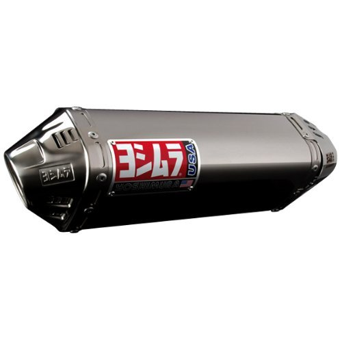 Yoshimura TRC Full Exhaust System Stainless Steel for Yamaha Zuma 125 2009-2012 (09 Full System)