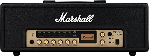 Marshall CODE 100W Guitar Amp Head Black (Marshall Accessories)