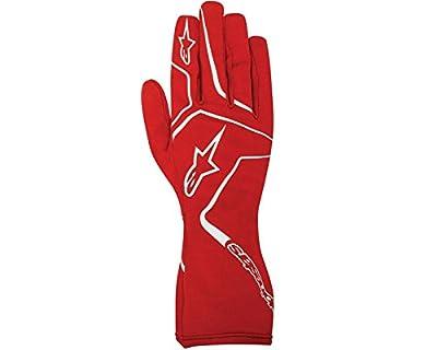 Alpinestars Childs Tech 1-K Race S Glove Red / White Med UK KART STORE