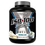 ISO-100 de Dymatize en un suplemento formado totalmente por aislado de proteína de suero. Al alimentar a nuestro cuerpo, la calidad de la proteína es muy importante para que su efectividad sea la deseada y conseguir los resultados que buscamo...
