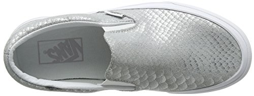 Vans da Slip metallic corsa da Snake Silver Classic Scarpe donna on 1nBrU1qw