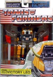 Transformers Mega SCF 05 Cybertron Armament Knight Victory Leo Super Collection Figure (Transformers Figures Super Collection)