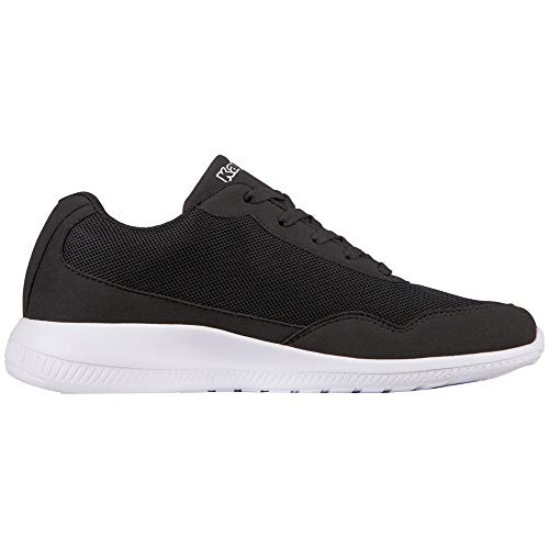 Unisex white Follow Nero black Adulto Kappa Sneaker 1110 wx8Un6vv