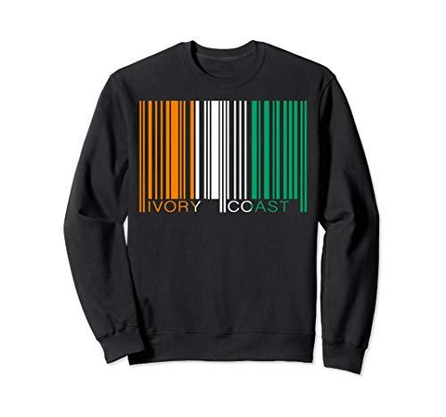 Barcode Ivory Coast Bar Code Sweatshirt -
